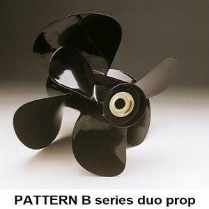 Pattern volvo duo aluminium props B series - PRICE PER SET off 1 x LH & 1 x RH propeller