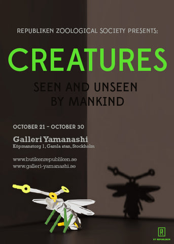 Exhibition by Republiken at Galleri Yamanashi