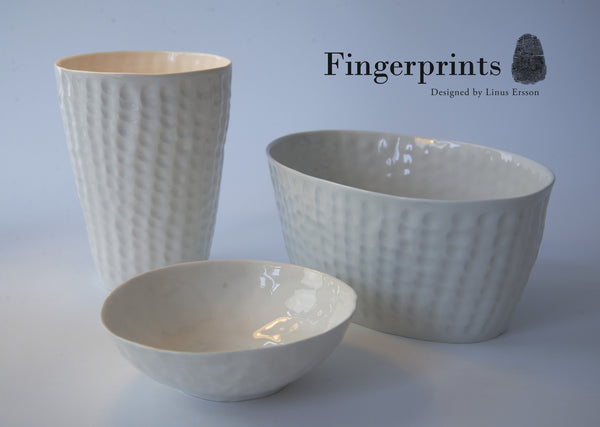 Fingerprints small bowl