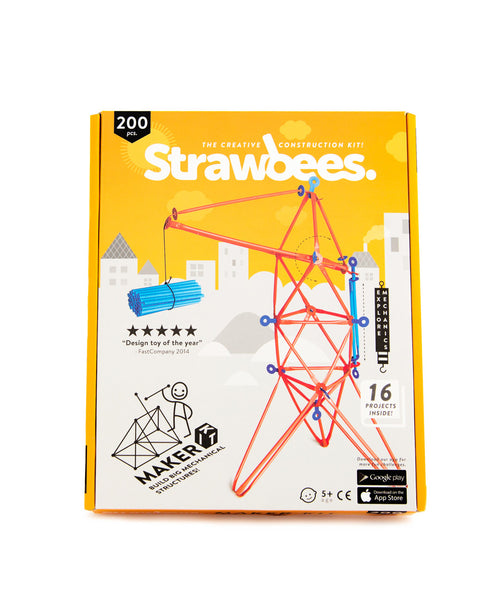 Strawbees maker kit box