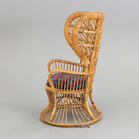 Wicker Chair, Lio Carminati, Gio Ponti