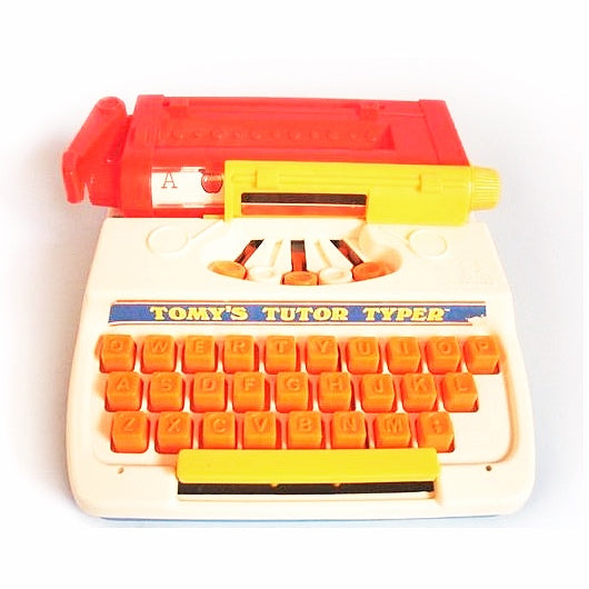 Tomy's Tutor Typewriter