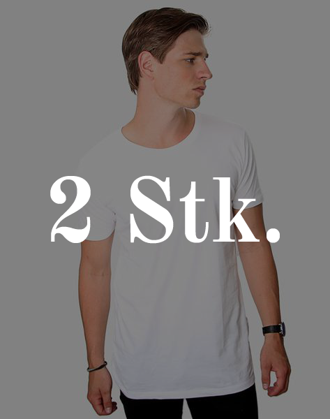2 stk Modern Crew Neck T-shirts fra ACC Store