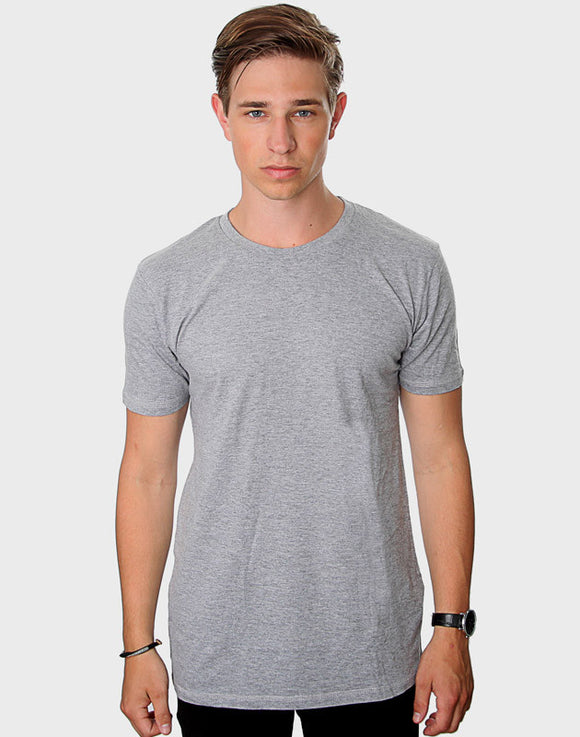 Fitted Fit - Modern Crew Neck, Oxford Grå T-shirt - ACC Store