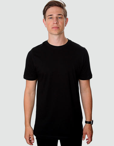 Fitted Fit - Crew Neck, Sort T-shirt - ACC Store