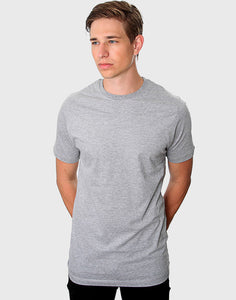 Fitted Fit - Crew Neck, Oxford Grå T-shirt - ACC Store