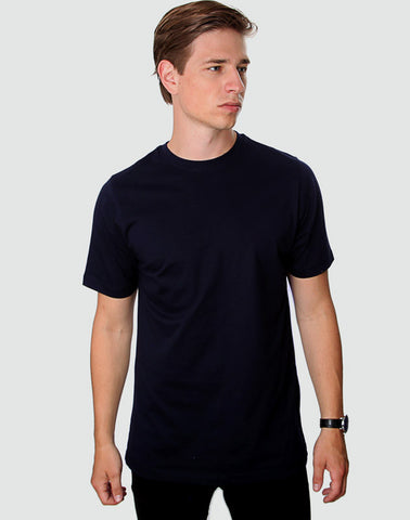 Fitted Fit - Crew Neck, Dark Navy T-shirt - ACC Store