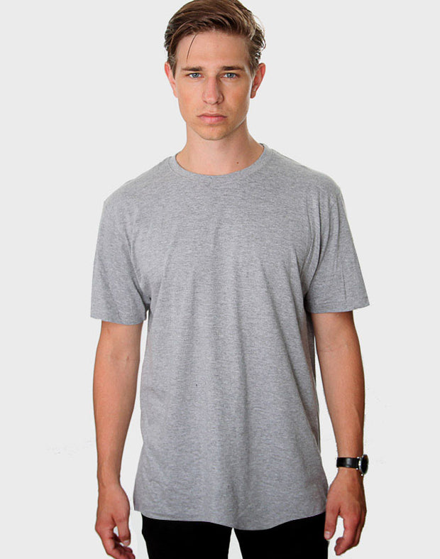 Tailored Fit - Classic Crew Neck, Oxford Grå T-shirt - ACC Store
