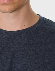 Tailored Fit - Classic Crew Neck, Heather Navy T-shirt - ACC Store