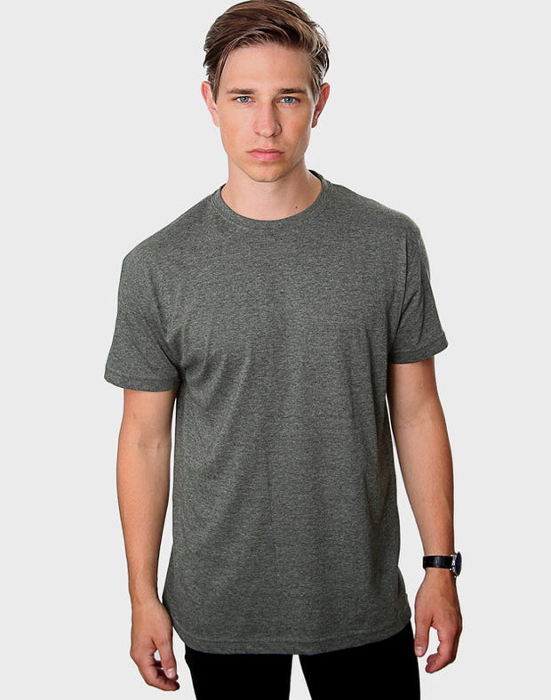 Tailored Fit - Classic Crew Neck, Heather Green T-shirt - ACC Store