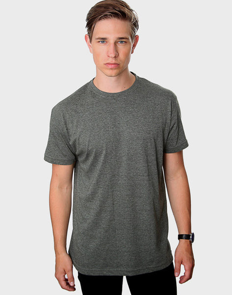 Classic Crew Neck T-Shirt, Heather Green - ACC Store