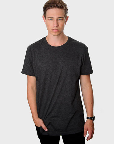 Tailored fit - Classic Crew Neck, Antrasit T-shirt - ACC Store