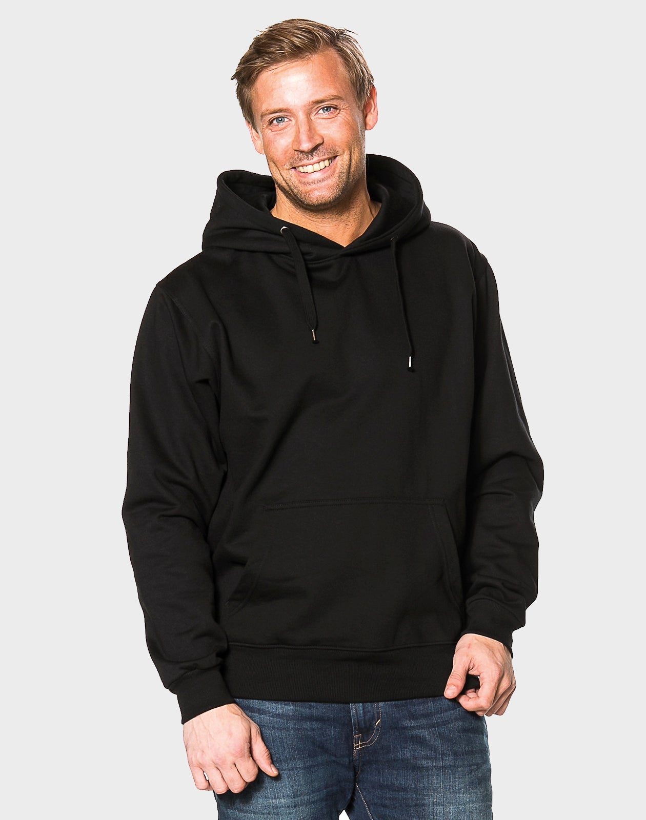 Tailored fit - Basic Hoodie, Sort T-shirt - ACC Store