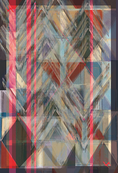 "Silk ""All Over Fringes"" Stola 200x140cm"