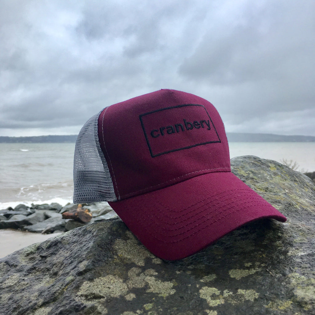 The Cranbery Trucker Cap