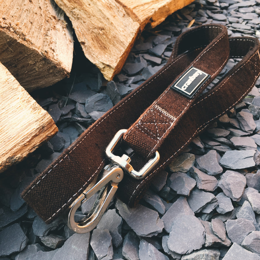 Autumn Hemp Lead & Collar