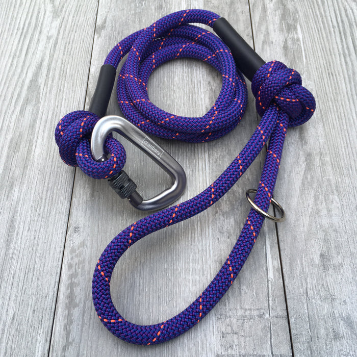 The Phlox Climbing Rope Dog Lead