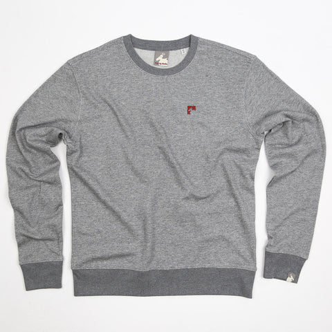 Men's Organic Cotton 'Lure' Sweatshirt - Granite - Flying Dodo Clothing Company Cornwall