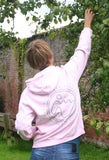 Women's 'Stamp Dodo' Hoodie - Blossom - Flying Dodo Clothing Company Cornwall