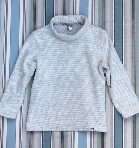 Men's Boatneck Tecnowool Fleece - Flying Dodo Clothing Company Cornwall