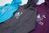 Children's 'Classic Dodo' Hoodie - Dark Heather Grey - Flying Dodo Clothing Company Cornwall