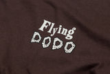 Men's Organic Cotton 'Classic Dodo' T-shirt - Brown - Flying Dodo Clothing Company Cornwall