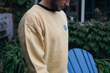 Men's 'Stamp Dodo' Sweatshirt - Mustard - Flying Dodo Clothing Company Cornwall