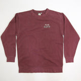 Men's 'Classic Dodo' Sweatshirt - Brick - Flying Dodo Clothing Company Cornwall