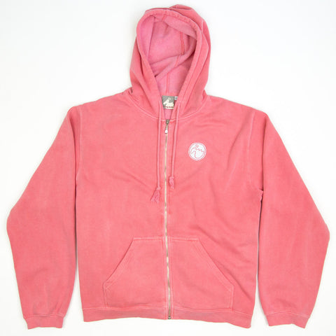 Women's 'Stamp Dodo' Hoodie - Watermelon - Flying Dodo Clothing Company Cornwall