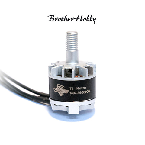 Brother Hobby Tornado T1 1407 3600kv - Single