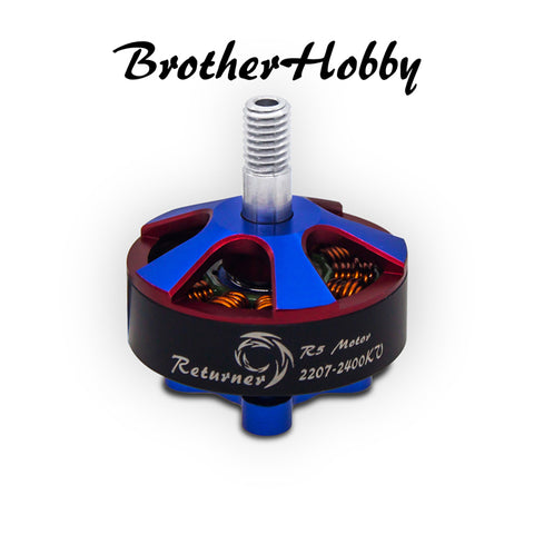 Brother Hobby Returner R5 2207 2400kv - Single