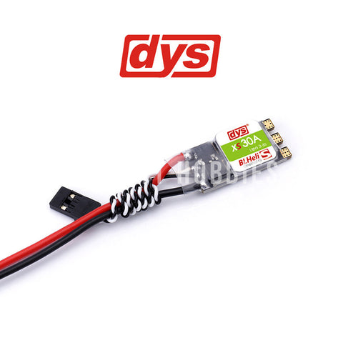 DYS XS30A ESC with no motor wires pre-soldered