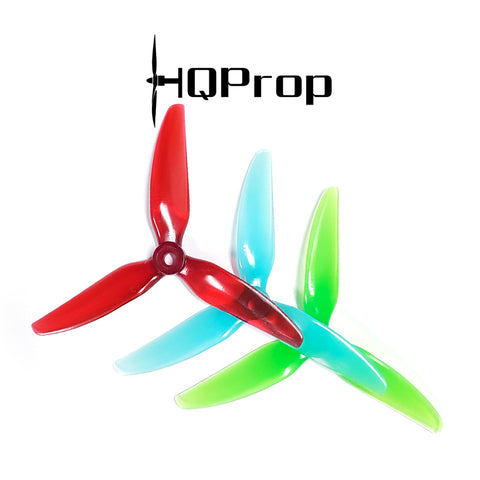 HQProp Durable DP 5x4.5x3V1S Triblade (PC)