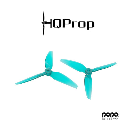 HQProp Durable DP 5.1x4.6x3 POPO Triblade (PC)