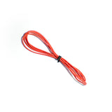 24AWG Silicon Wire Red