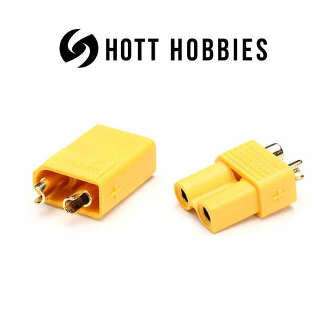 XT30U Connector Yellow (pair)