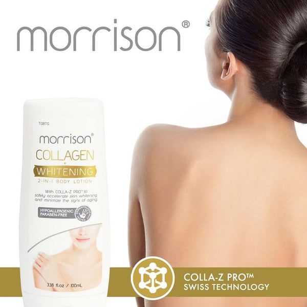 Morrison Collagen Whitening Body Lotion (2-pack), SAVE 43