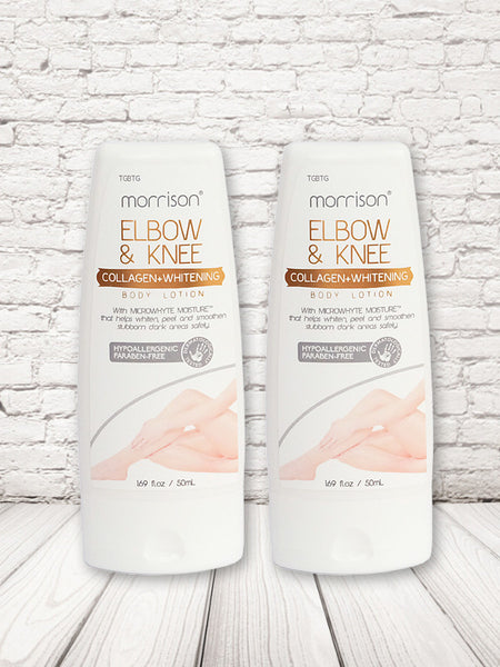 Morrison Bundle: Elbow & Knee Collagen Whitening Lotion (2-pack)