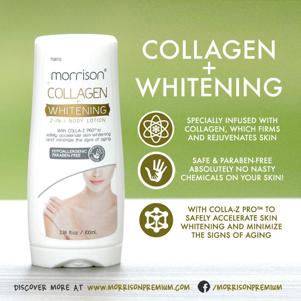 Morrison Collagen Whitening 2-in-1 Body Lotion