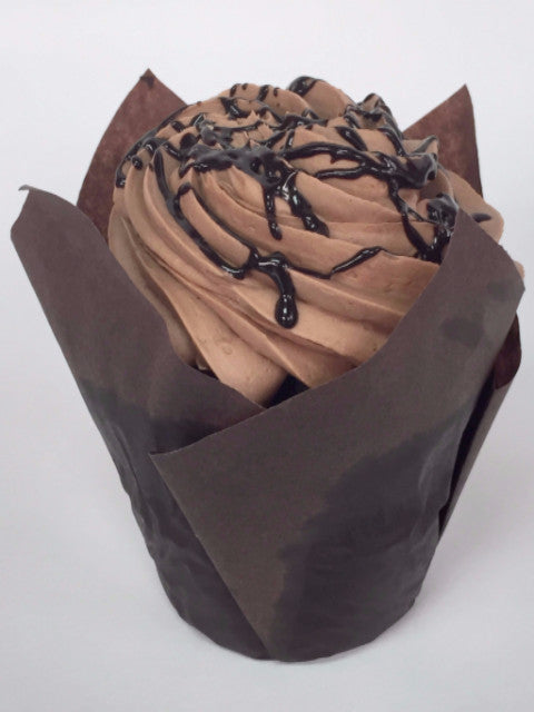 Triple Chocolate & Chocolate Buttercream Cupcake
