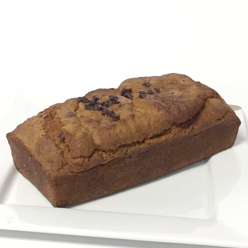 Gluten Free Pumpkin Chocolate Chip Bread Loaf