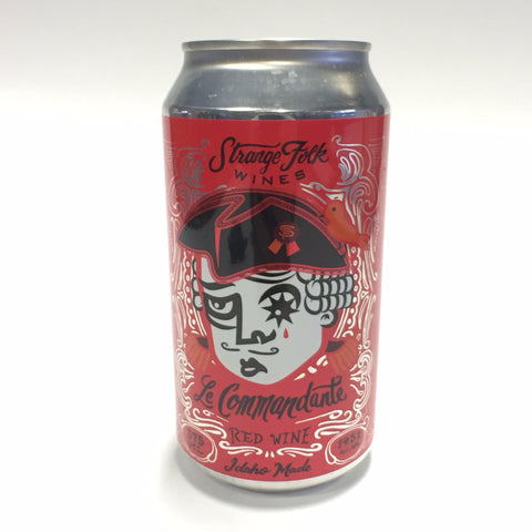Strange Folk - Red Wine in Can