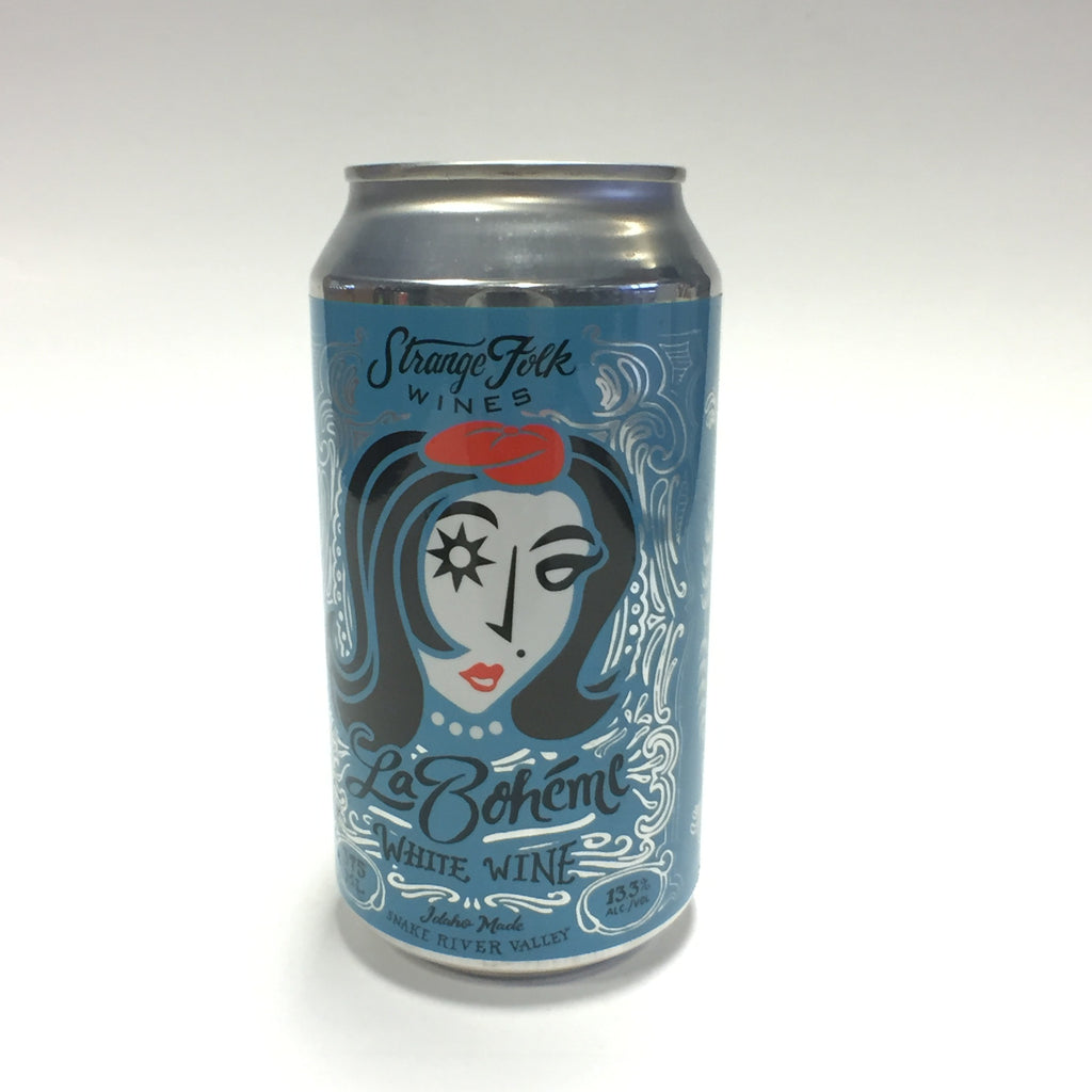 Strange Folk - White Wine in a Can
