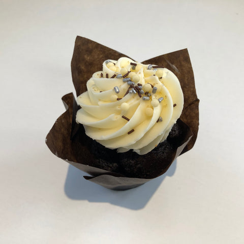 Triple Chocolate & Signature Buttercream Cupcake