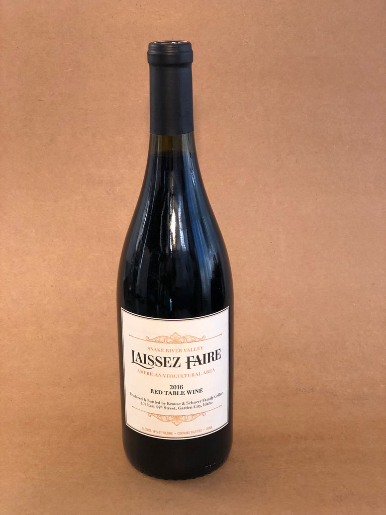 Laissez-Faire Red Table Wine