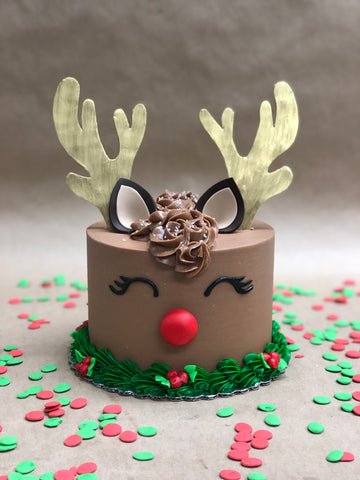 Winter Doe Cake Decorating Class, Friday, December 14th 6-8 pm