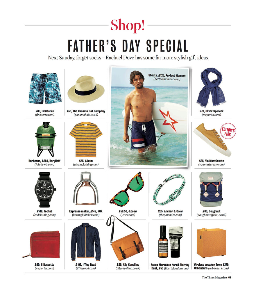 The Times Magazaine fathers day gift guide