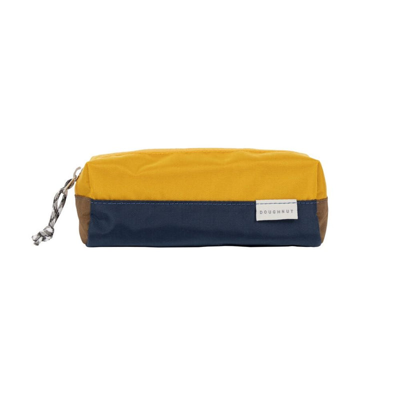 Pencil Case NAVY X MUSTARD