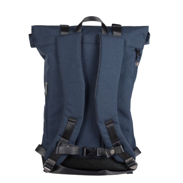 CHRISTOPHER roll-top backpack Steel Blue CORDURA