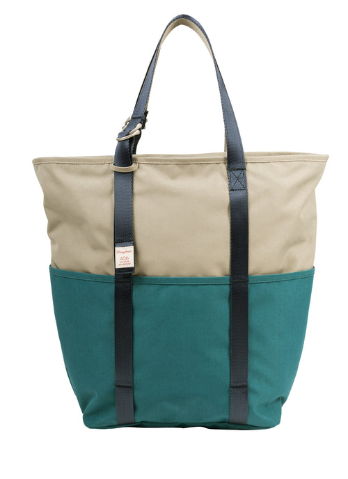 Daily Tote Hazelnut x Teal